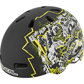 O'Neal Dirt Lid ZF Casque Bones, rift yellow